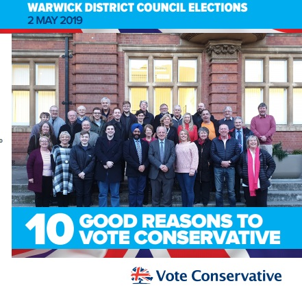 10 Good Reasons to Vote Conservative